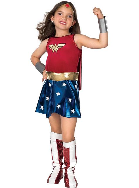 Wonder Woman gyerek ruha