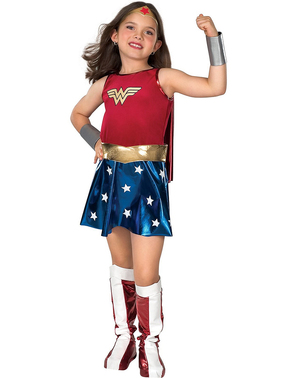 Costum Wonder Woman Classic fată