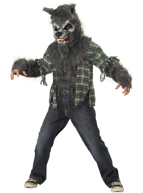 Costume lupo mannaro maledetto da bambino