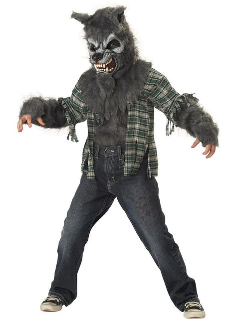 Déguisement de loup-garou maudit pour garçon