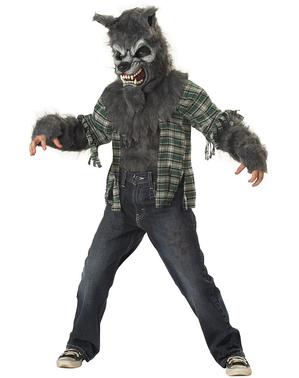 Pakaian serigala jahat (kanak-kanak)