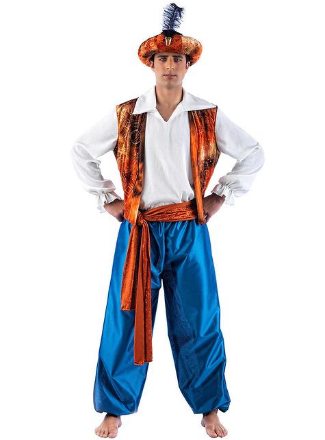 Disfraz de tuareg deluxe para hombre