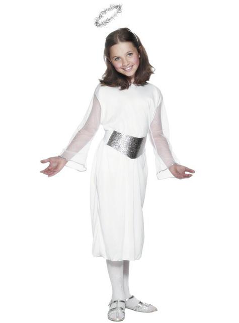 Klassisk Engel Kostyme Jente