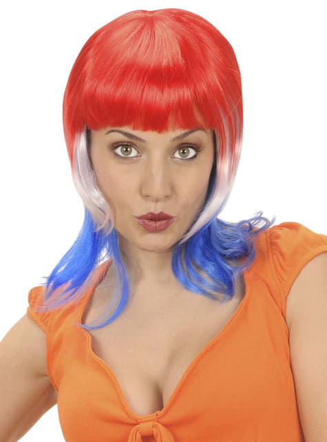 Woman's French Footballer Wig