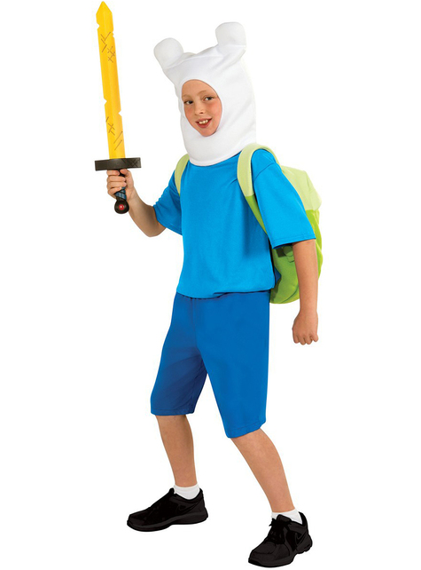 Adventure Time Finn Kids Costume