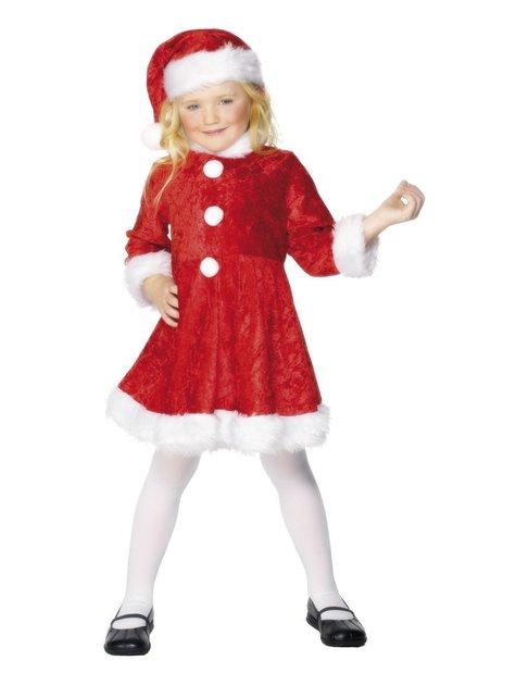 Schattige kerstvrouw Kostuum voor meisjes