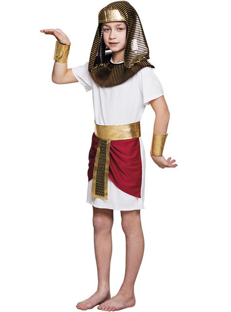 Disfraz de Tutankamon para niño