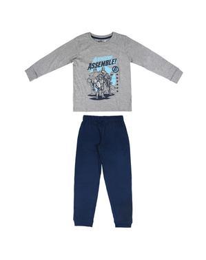 Avengers pyjamas til drenge i blå - Marvel