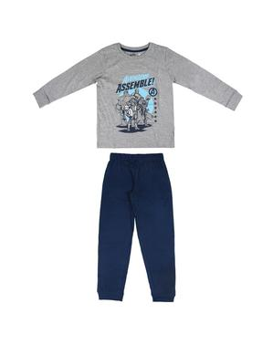 Pijama The Avengers albastră pentru băiat – Marvel