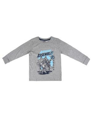 Avengers pyjamas til gutter i blå - Marvel