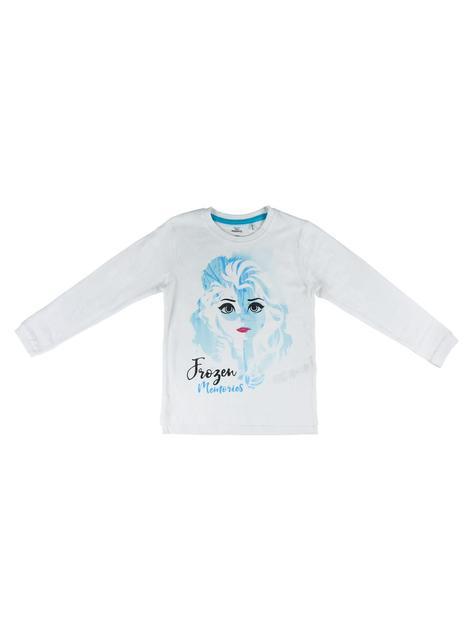 Koszulka z długim rękawem dla dziewczynek Elsa Kraina Lodu 2 - Disney