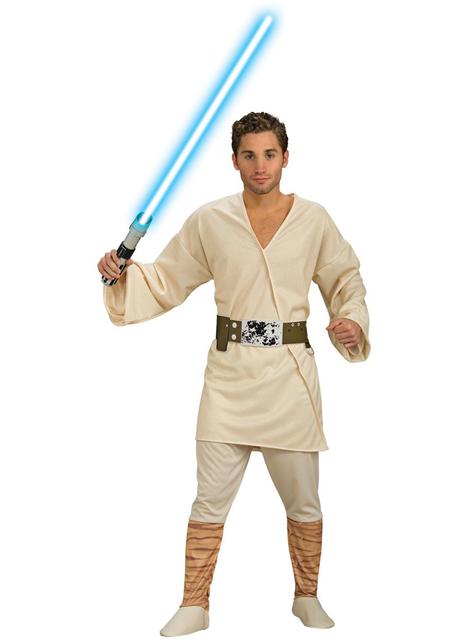 Fato de Luke Skywalker para adulto