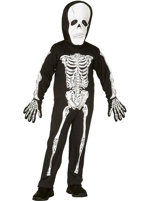 Strój szkielet klasyczny dla dzieci