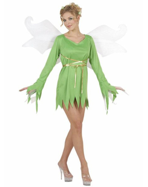 Neverland fairy costume for a woman