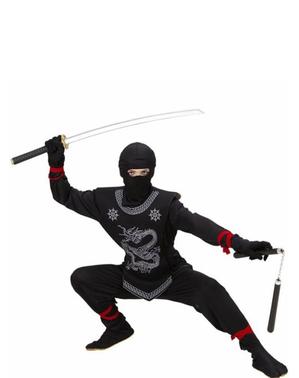 Drage Ninja Kostyme Barn