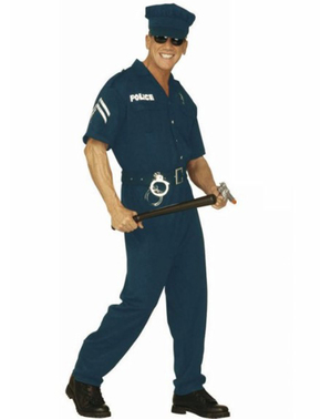Strój agent policji męski