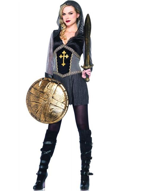 Disfraz de guerrera Juana de Arco para mujer