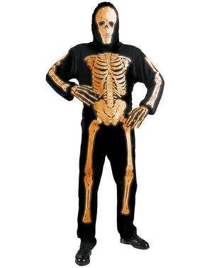 Esqueleto de color neón para hombre