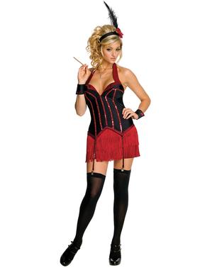 Playboy Flapper Mädchen Kostüm für Damen