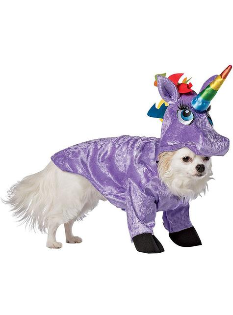 Déguisement licorne chien