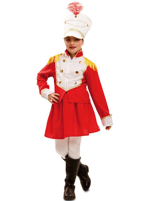 Disfraz de majorette para niña