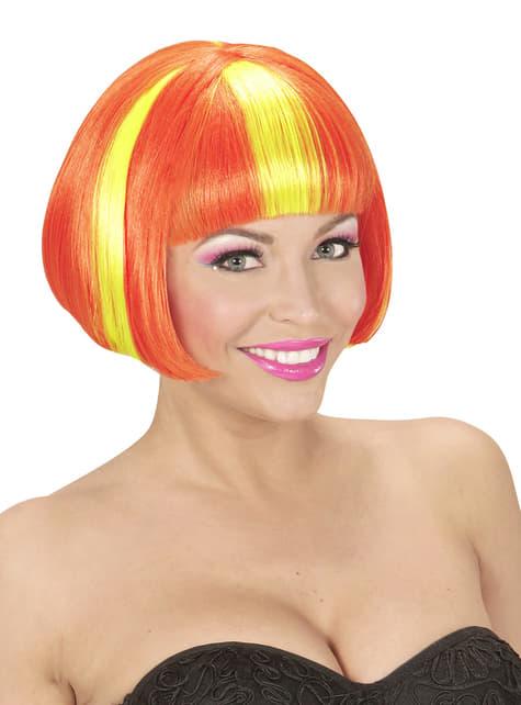 Woman's Spanish Flag Wig