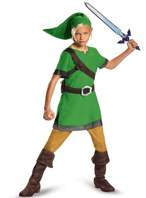 Maskeraddräkt Link classic barn