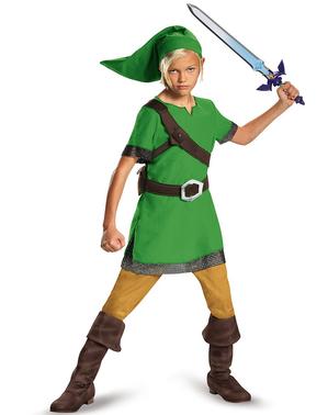 Klassisk Link Kostyme Gutt
