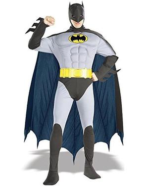 Miesten klassinen lihaksikas Batman-asu