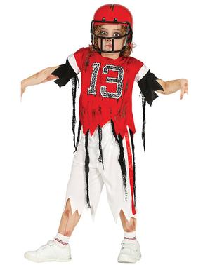 Maskeraddräkt quarterback zombie 13 för barn