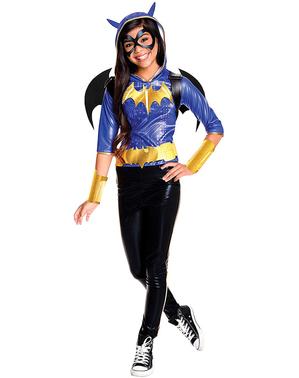 Fato de Batgirl deluxe para menina