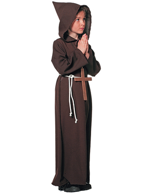 Friar costume for boys