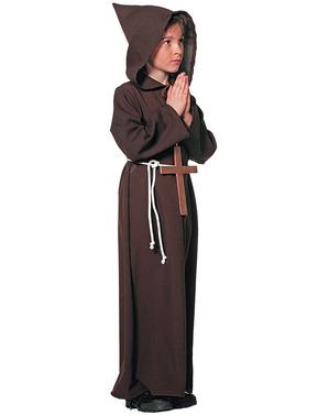 Maskeraddräkt munk klassisk barn