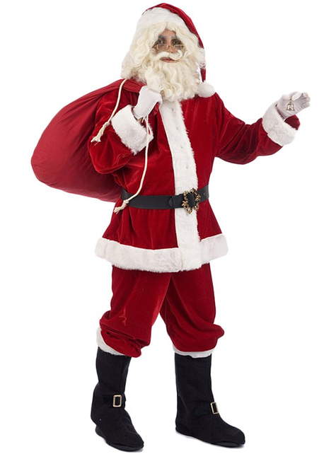 Fato de Pai Natal Luxo