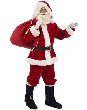 Luksusowy kostium święty Mikołaj