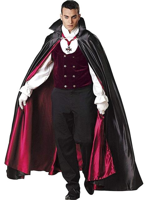Strój gotycki wampir Elite