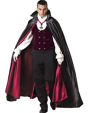 Elite gothic vampire costume