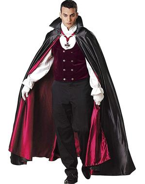 Стилен готически костюм на вампир