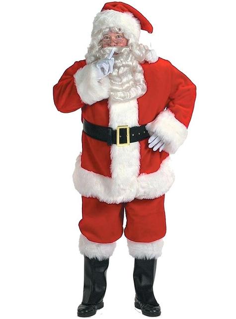 Professionelles Weihnachtsmann Kostüm
