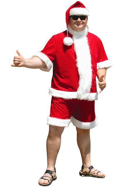 Strój święty Mikołaj wakacje