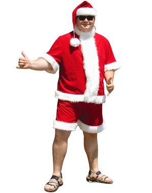 Summery Santa Claus costume