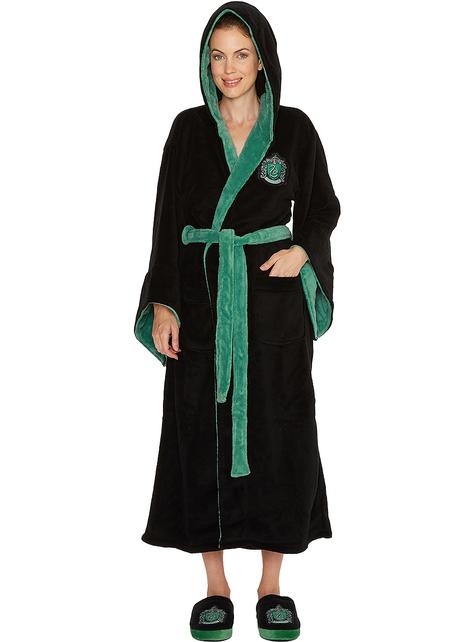 Slytherin Fleece Bademantel für Damen - Harry Potter