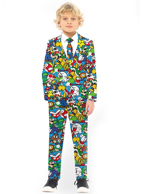Garnitur Opposuit Super Mario Bros dla chłopców