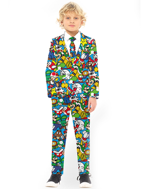 Super Mario Bros Suit for kids - Opposuits