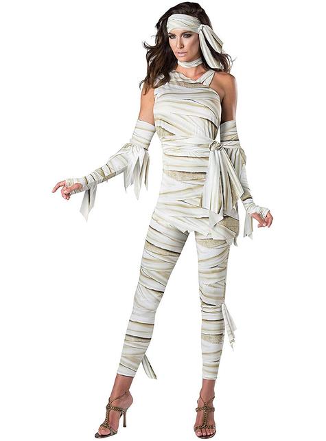 Disfraz de momia estilosa para mujer