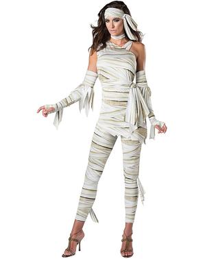 Stijlvol mummie kostuum voor vrouw