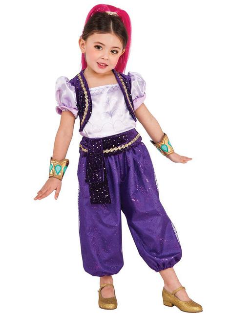Disfraz de Shimmer deluxe para niña - Shimmer y Shine