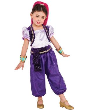 Deluxe Shimmer kostume til piger - Shimmer and Shine