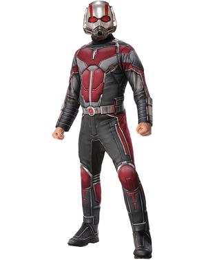 Fato de Ant Man deluxe para homem - Homem-Formiga e a Vespa