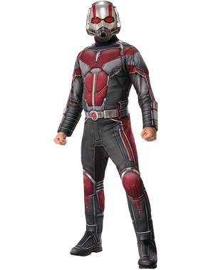 Maskeraddräkt Ant Man deluxe vuxen - Ant Man and the Wasp